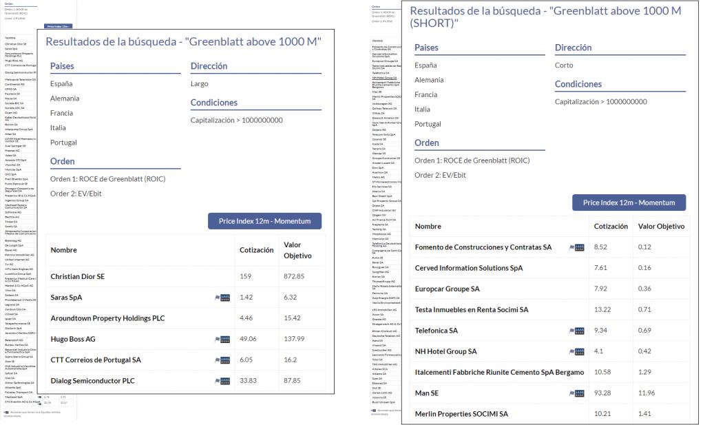 KAU+ Profesional - Trading cuantitativo - Clasificación long/short