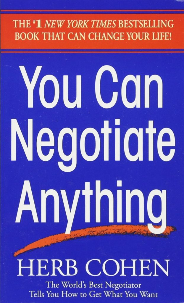 Comprar You can negotiate anything
