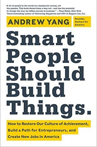 Comprar Smart People Should Build Things