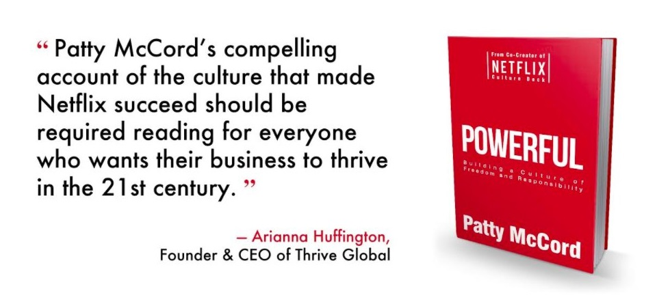 Libro Powerful: Building a Culture of Freedom and Responsibility