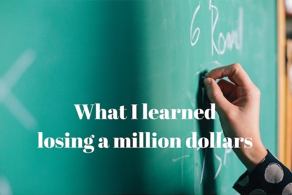 Libro What I Learned Losing a Million Dollars