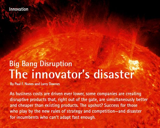 Libro Big Bang Disruption: Strategy in the Age of Devastating Innovation