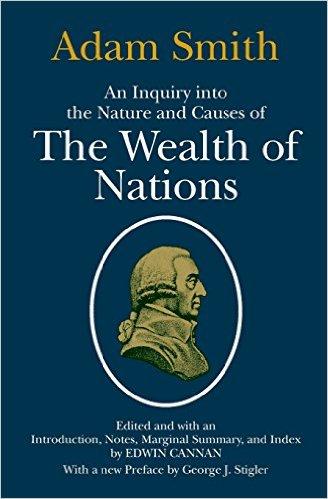 Portada del libro La riqueza de las naciones