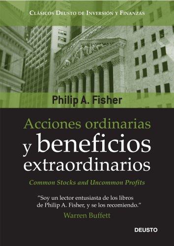 Portada del libro Acciones ordinarias y beneficios extraordinarios