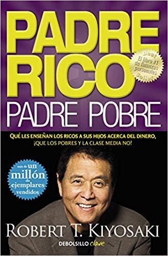 Portada del libro Padre rico, padre pobre