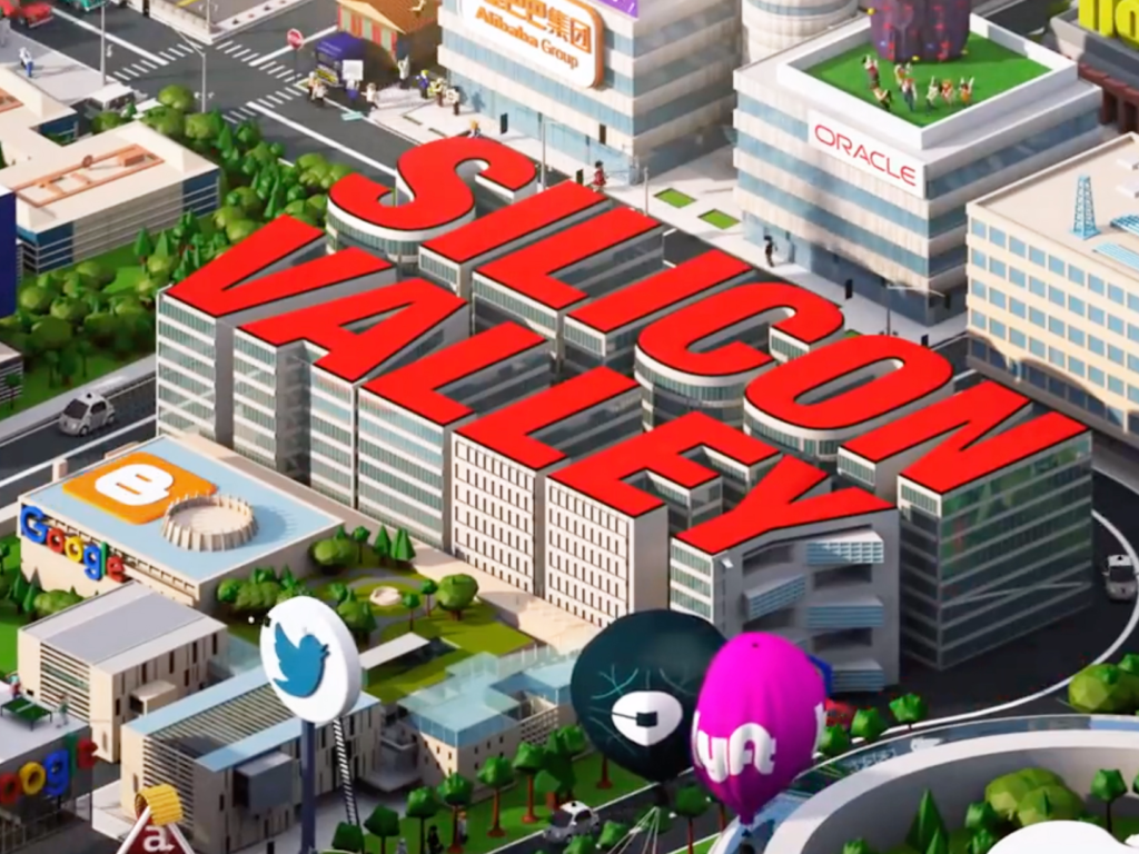 Silicon Valley intro.