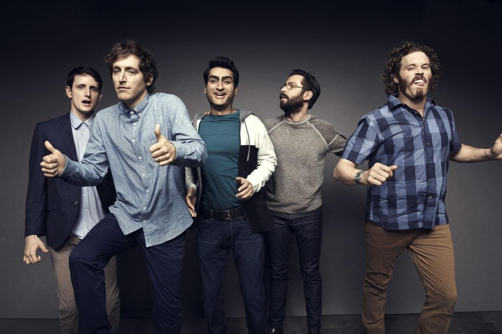 Actores Silicon Valley.