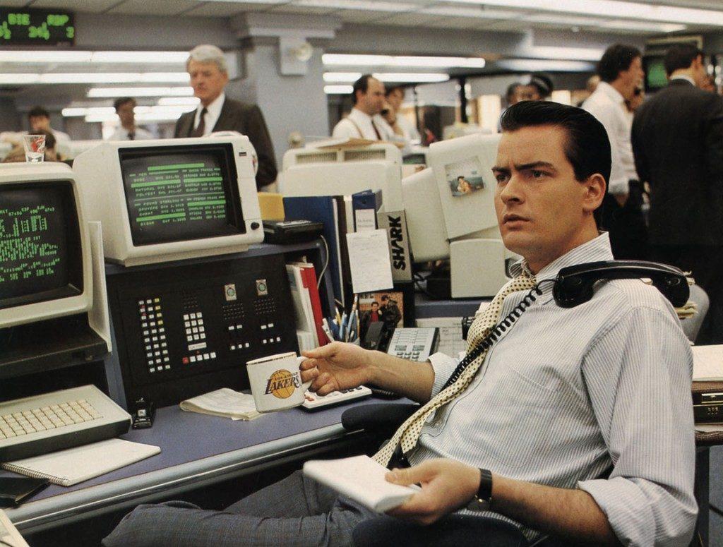 Charlie Sheen (Wall Street 1987)