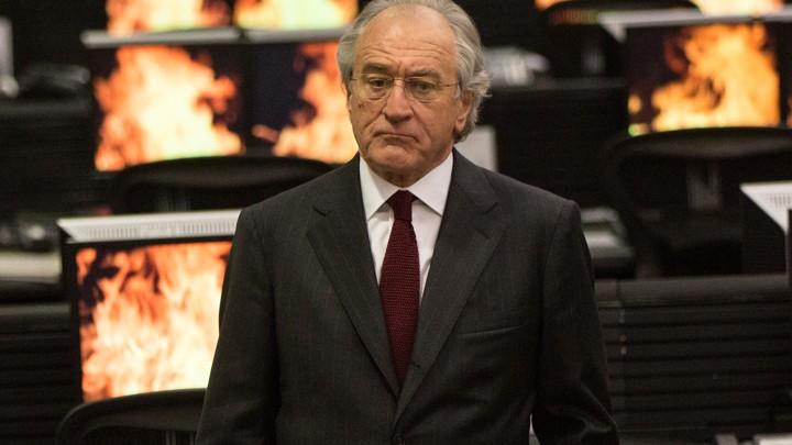 Robert De Niro como el inversor Bernard Madoff