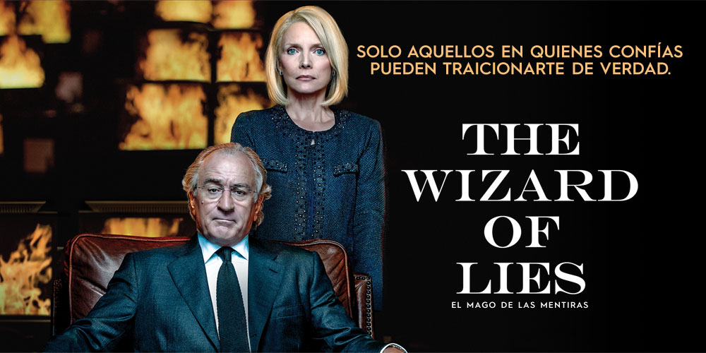The Wizard of Lies portada.