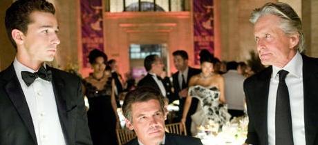 Wall Street II fotograma de la película.