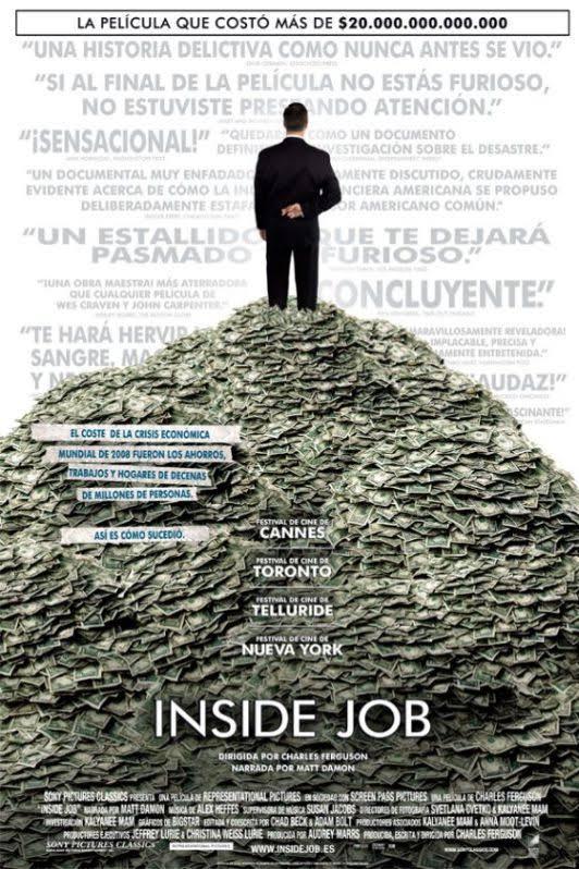 Inside Job (2008) portada.