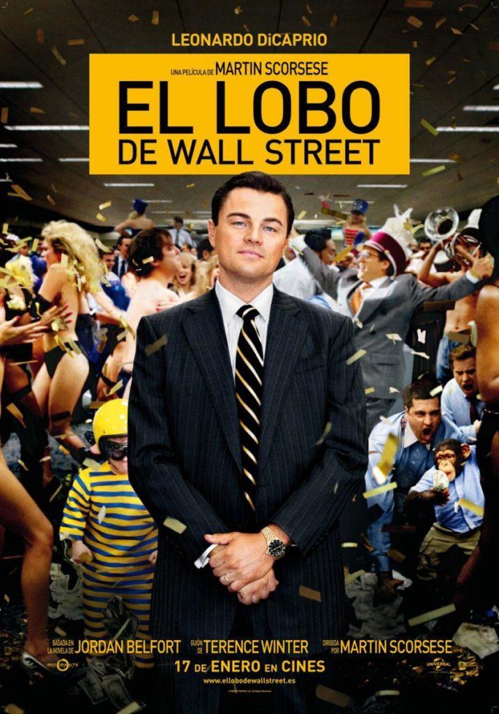 El lobo de Wall Street portada.