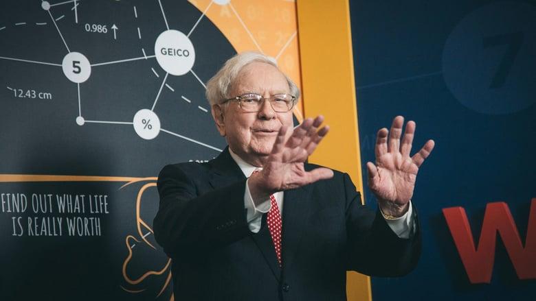 Warren Buffett en la presentación del documental de HBO.