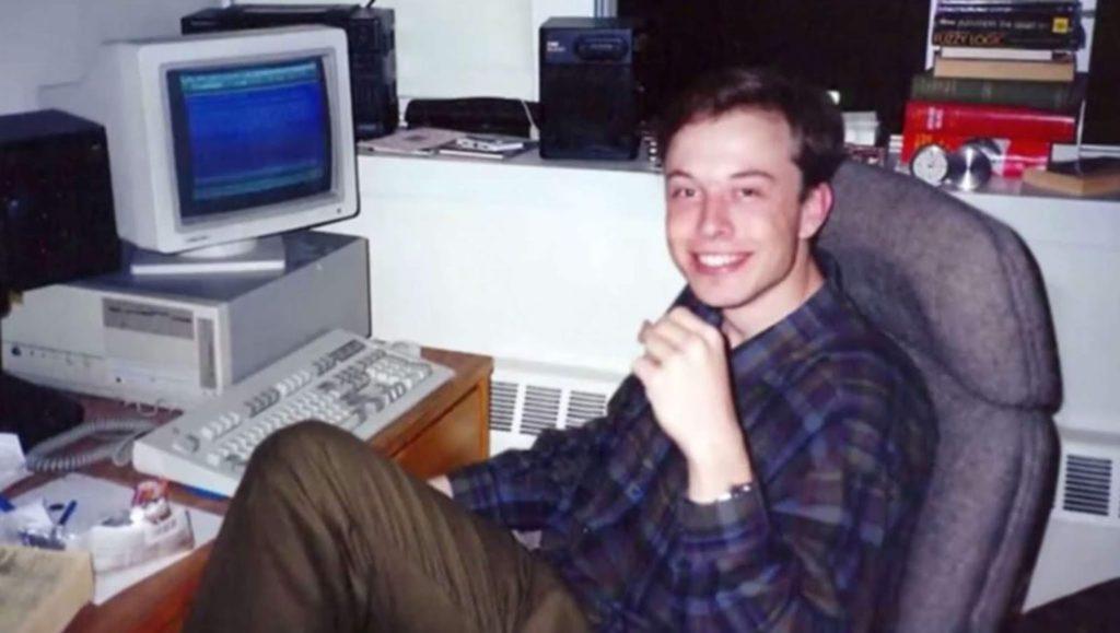 Elon Musk en el desarrollo de Zip2.