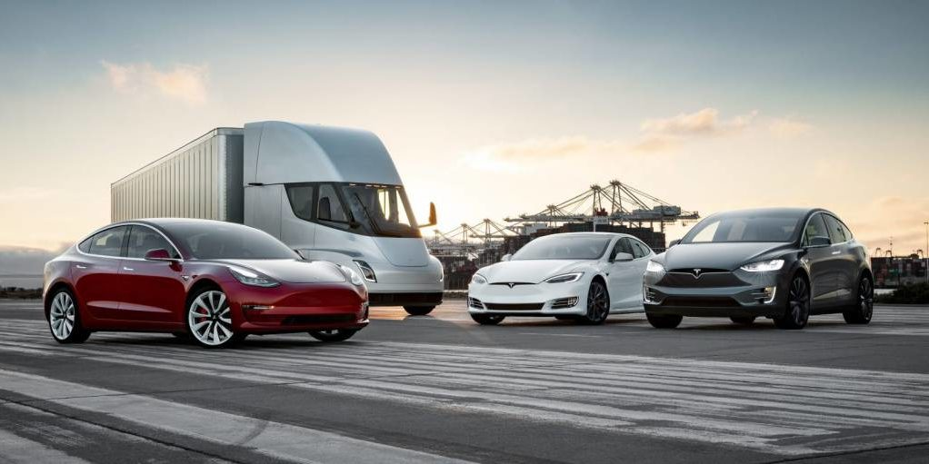 Modelos de Tesla.