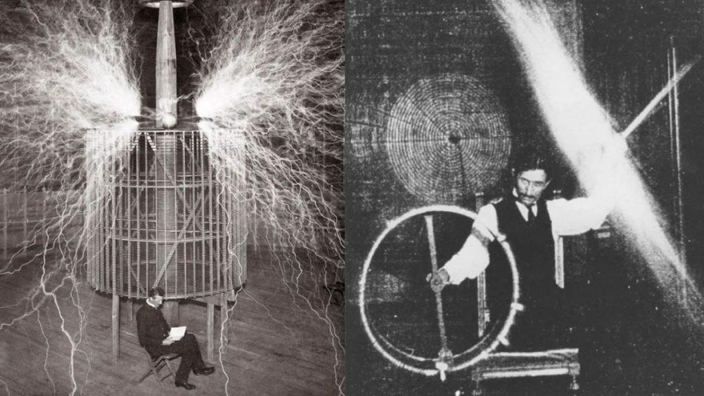 Nicola Tesla.