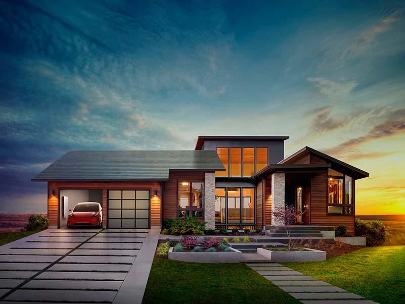 Solar Roof de Tesla.