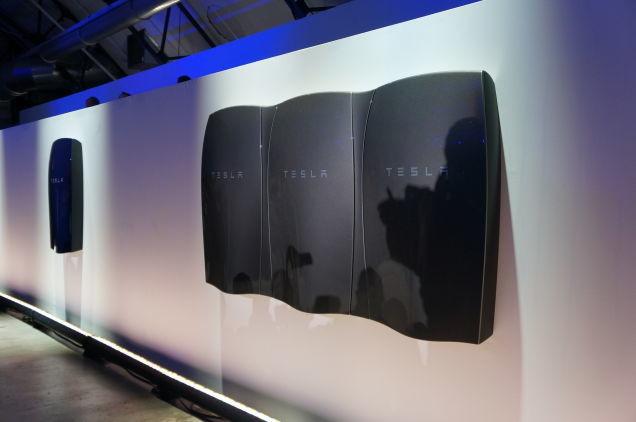 Powerwall de Tesla.