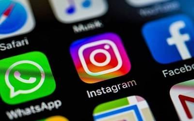 Captura de pantalla con las aplicaciones de Facebook