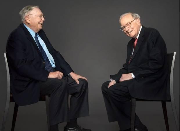 Buffett y Munger.