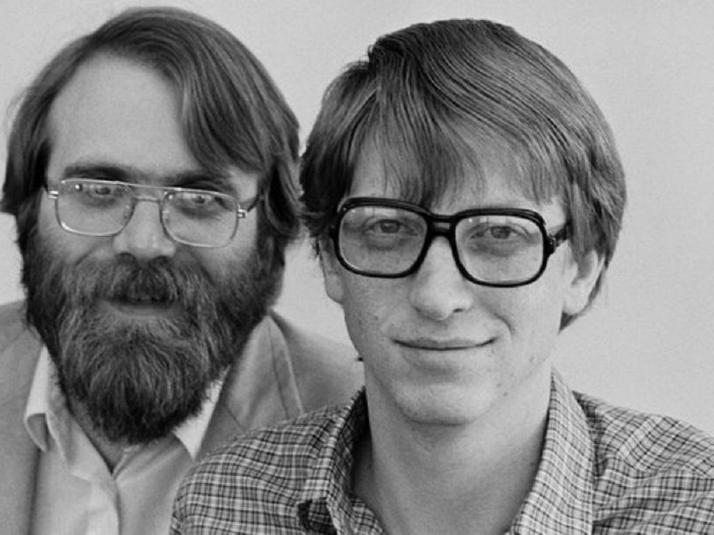 Bill Gates y Paul Allen co-fundadores de Microsoft