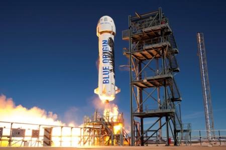 Lanzamiento de la capsula de Blue Origin