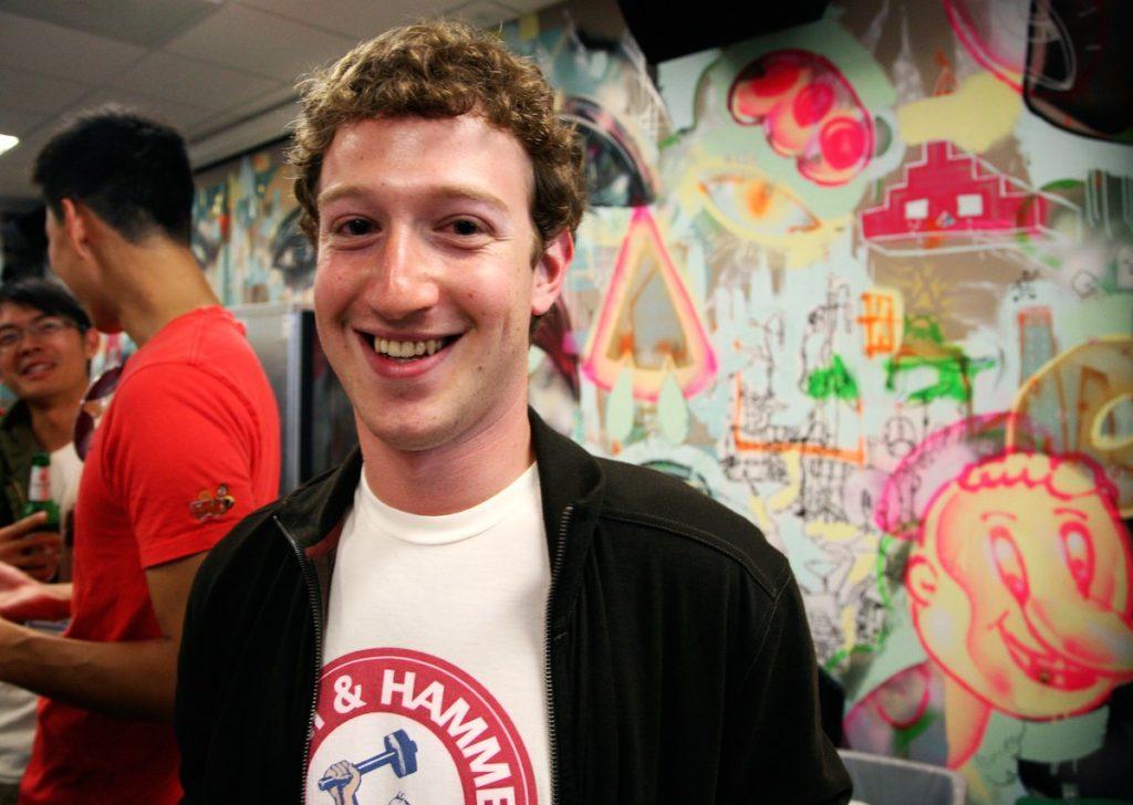 Mark Zuckerberg en Harvard.