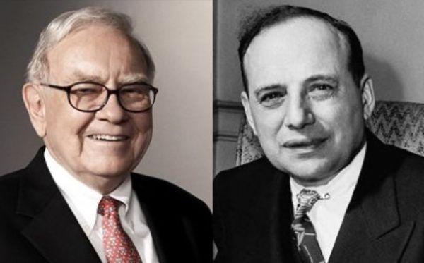 Warren Buffett y Benjamin Graham.