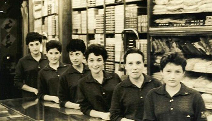 Fotografía en confecciones GOA 1964