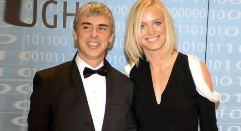 Larry Page y Lucinda Southworth