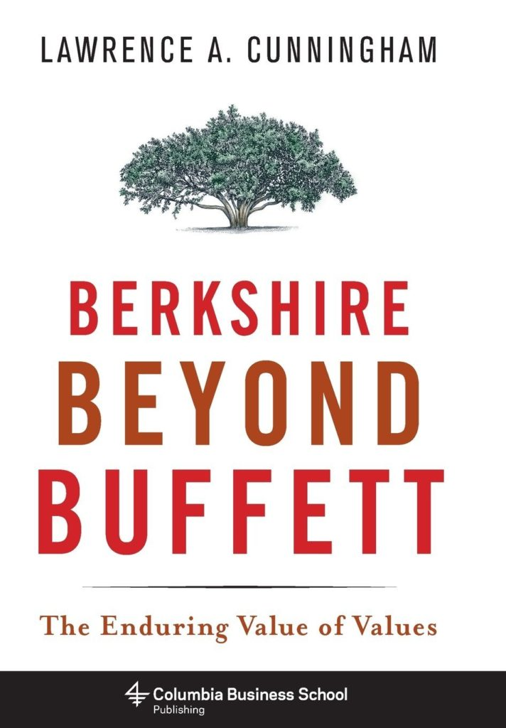 Portada del libro 'Berkshire Beyond Buffett: the enduring value of values'