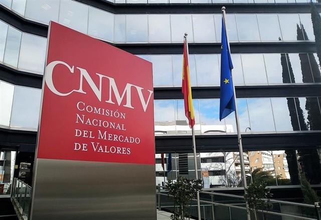 Fotografía de la fachada de la Comisión Nacional del Mercado de Valores (CNMV).