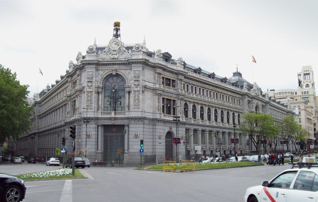 Fachada Banco España