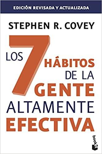 Portada del libro: Los 7 hábitos de la gente altamente efectiva