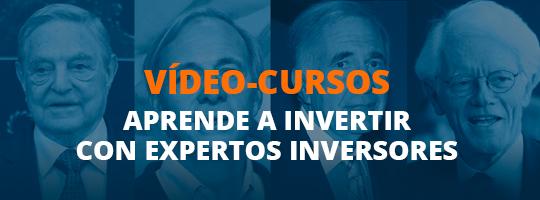 Video-cursos. Aprende a invertir con expertos inversores