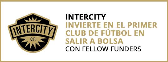 Intercity. Invierte en el primer club de futbol en salir a bolsa