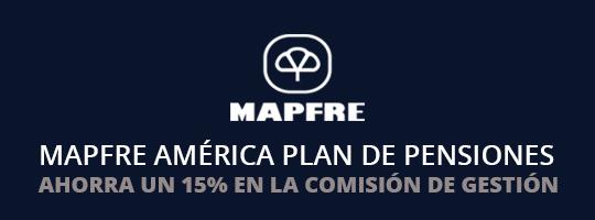 Ahorra un 15% en el plan de pensiones Mapfre América