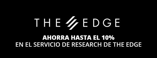 Ahorra hasta un 10% en el servicio de research de The Edge